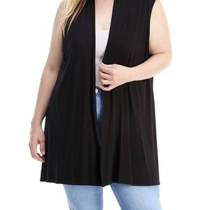 Curvy Vest with Pockets